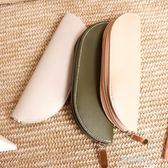 日韓簡約pu皮革皮質筆袋商務辦公用文具收納包便攜式 完美情人精品館 完美情人精品館