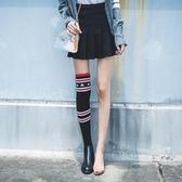 2019春秋新款長筒單靴女過膝小辣椒瘦瘦靴彈力針織ins超火襪子靴