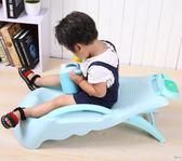加大加厚可折疊嬰幼兒洗頭躺椅兒童洗頭床女童洗發椅小孩洗頭神器XW  一件免運