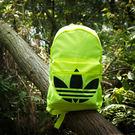 adidas BP CLAS TREFOIL 愛迪達 後背包 背包 黃 - AJ8531
