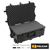 美國 PELICAN 1650 派力肯 塘鵝 輪座拉桿氣密箱 含泡棉 黑色 公司貨