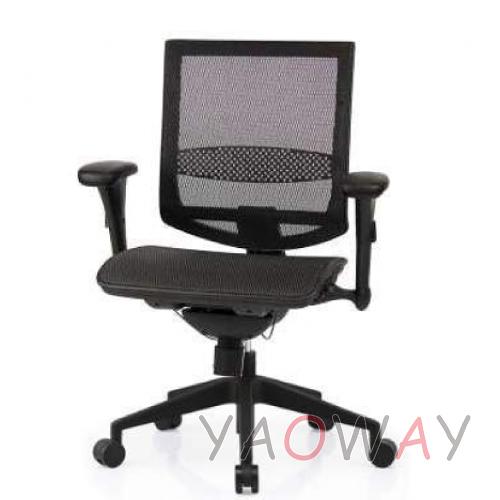 【耀偉】SL-D2 尼龍椅腳-超值功能椅(人體工學椅/辦公椅/電腦椅/網椅)