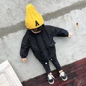 尾牙年貨節男童外套1春秋裝風衣3秋季兒童拉鏈衫寶寶小男孩洋氣5沖鋒衣7歲潮第七公社