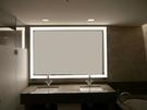 【麗室衛浴】方型 不銹鋼鏡框  LED燈光 大浴鏡   MW2041  尺寸 700*500*40 mm  另售800*600*40 mm