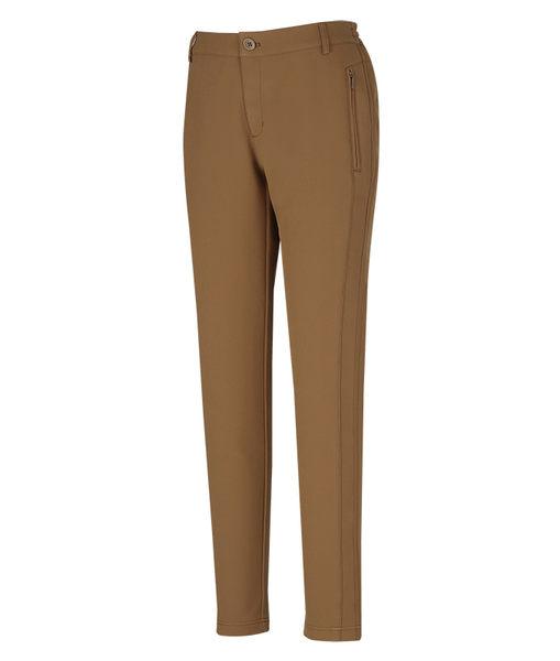 ╭OUTDOOR NICE╮山林MOUNTNEER 女款SOFTSHELL保暖極窄管長褲 棕色 22S16 軟殼褲 窄管褲 保暖褲