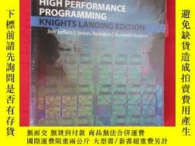 二手書博民逛書店Intel罕見Xeon Phi Processor High Performance Programming Kn