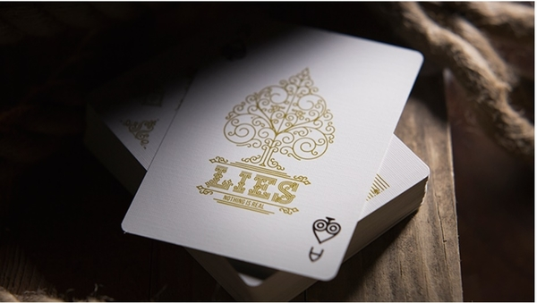 【USPCC撲克】  Lies Playing Cards (The First Casualty is Truth)