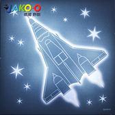 JAKO-O-德國野酷-LED裝飾夜燈-火箭