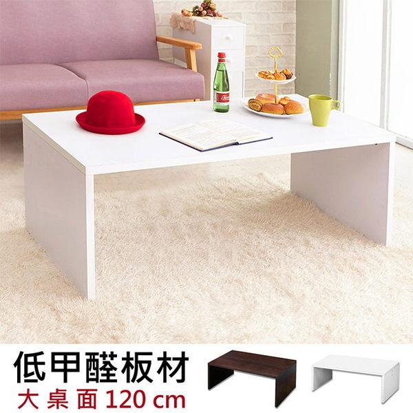 MIT台灣製【澄境】120CM極簡風格大茶几桌 咖啡桌/餐桌/和室桌/長桌/電腦桌/書桌/辦公桌/客廳 TA001