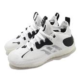 adidas 籃球鞋 Harden Vol. 5 Futurenatural 白 黑 哈登 男鞋【ACS】 Q46143