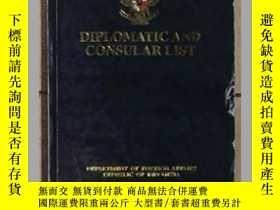 二手書博民逛書店英文原版罕見Diplomatic and consular li