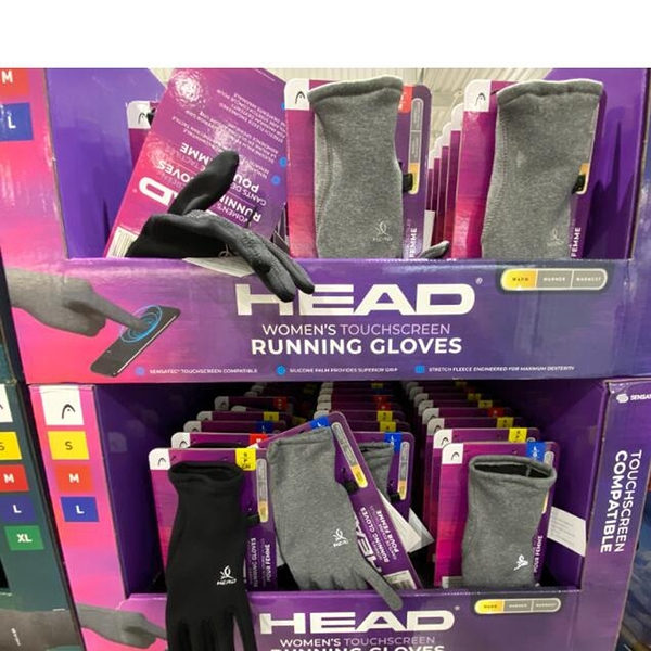 [COSCO代購] C2001112 HEAD WOMEN TOUCHSCREEN RUNNING GLOVES 女用可觸屏運動保暖手套