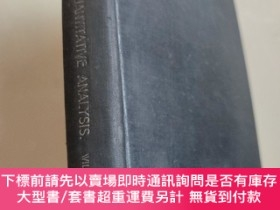 二手書博民逛書店elementary罕見quantitative analysis Theory and Practice sec