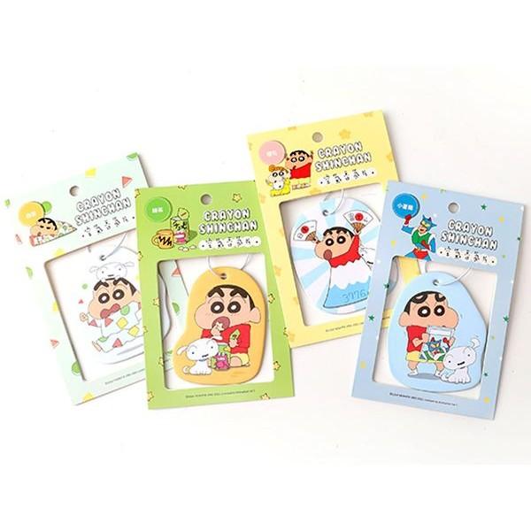 蠟筆小新 香氛片(1入) 白茶/小蒼蘭/櫻花/綠茶 款式可選【小三美日】