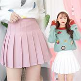 褲裙秋學生防走光軟妹高腰半身裙(共8色,XS-XL)【全館85折】