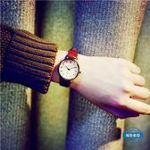 男錶手錶女學生正韓簡約 潮流經典復古個性數字皮帶休閒女錶 全館免運