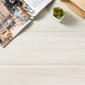 樂嫚妮 預購-地板貼DIY仿木紋地貼-1.7坪 120-乳白白蠟木X40
