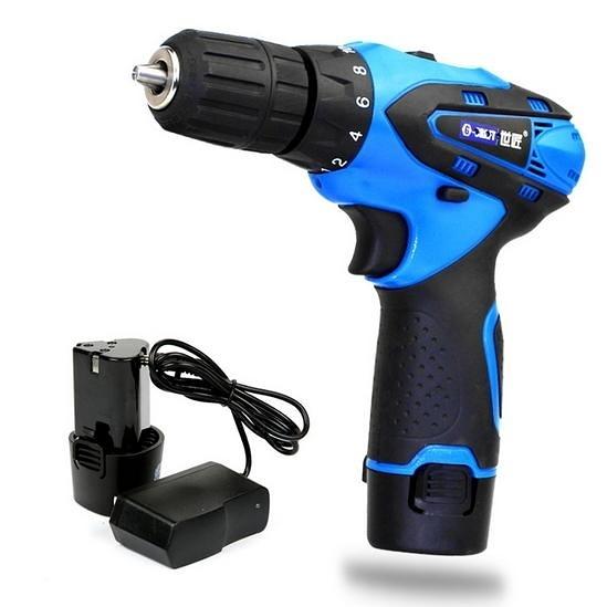 【世匠12V 雙速充電電鑽】 鋰電池 電動螺絲起子 電動起子 電動工具 電動手鑽 NF