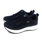 G.P (GOLD PIGEON) 阿亮代言 休閒運動鞋 黑色 針織 深藍鞋 P6945M-20 no468