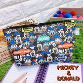 正版授權 迪士尼系列 米奇 唐老鴨 收納包 筆袋 收納包 萬用包 化妝包 COCOS TP199
