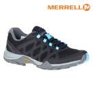 MERRELL 女 ML033148 水陸兩棲運動鞋 SIREN 3 AEROSPORT【黑-天空藍】/ 城市綠洲 (支撐、緩衝、抗菌防臭)