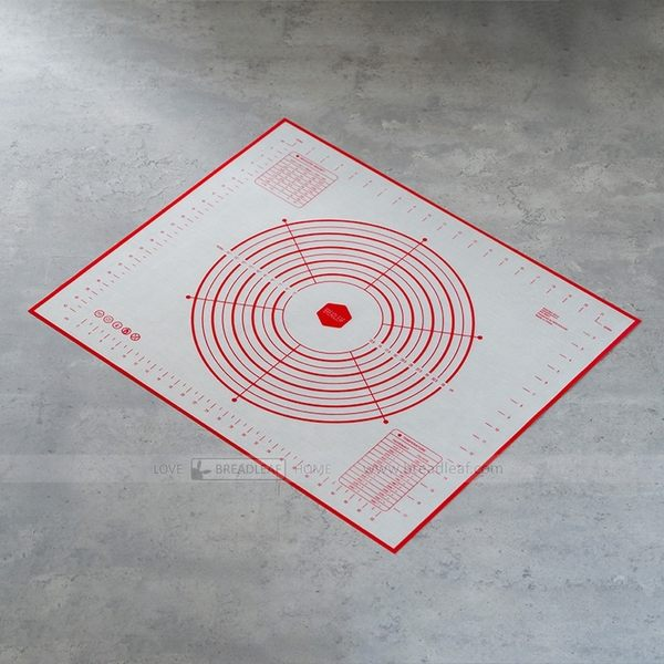BREADLEAF 60x50cm 230g加大加厚揉麵墊 鉑金矽膠墊 工作墊 隔熱墊 烘培墊 桿麵墊 料理墊B003
