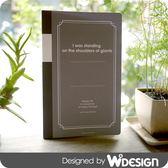 思考手札-方眼筆記本B5/黑【W2Design】