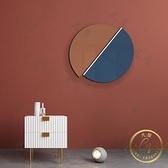 壁畫 新北歐現代簡約裝飾畫創意幾何組合掛畫客廳臥室玄關樣板間壁飾-凡屋