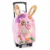 德國okiedog 3D動物造型兒童行李箱-兔子