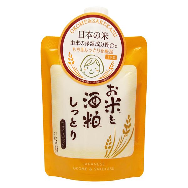 《日本製》日本米酒粕超保濕面膜 170g  ◇iKIREI