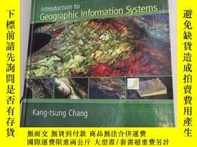 二手書博民逛書店IIntroduction罕見to Geographic Information Systems地理信息系統概論[