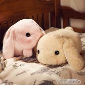 公仔 兔子抱枕公仔毛絨玩具布娃娃公仔玩偶可愛長條枕女生兒童創意禮品 名創家居館igo