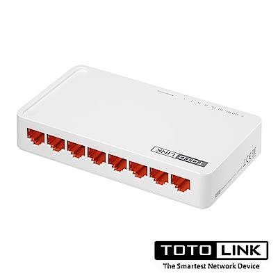 TOTOLINK S808G 8埠 Giga 極速乙太網路交換器