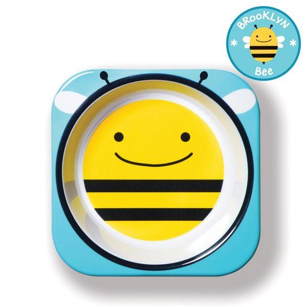 美國 skip hop 動物園系列兒童碗-蜜蜂