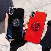三星 Note8 S9 S9 Plus S8 Plus S8 A8+ 2018 A8 2018 烤磁閃鑽支架殼 手機殼 保護殼 水鑽殼 支架 集線器
