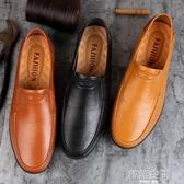豆豆鞋 春2020豆豆鞋男休閒皮鞋韓版男鞋夏季透氣軟底一腳蹬懶人鞋子