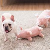 毛絨小豬狗狗玩具耐咬玩具