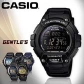CASIO手錶專賣店 卡西歐  W-S220-1B  男錶 白面 多功能慢跑運動電子錶 壓克力鏡面 太陽能 塑膠錶帶