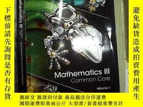 二手書博民逛書店Mathematics罕見III Common Core Vol