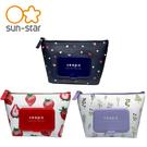【日本正版】seepo 濕紙巾收納包 附濕紙巾蓋 化妝包 收納包 sun-star 613437 613444 613468