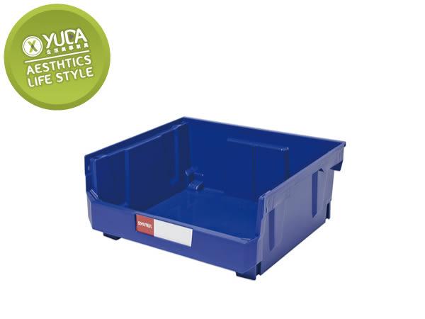 【YUDA】樹德櫃 HB-250 分類置物盒(附4支腳柱與1片隔板) / 耐衝擊分類置物盒 / 收納盒