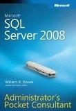 二手書博民逛書店《Microsoft SQL Server 2008 Administrator's Pocket Consultant》 R2Y ISBN:0735625891