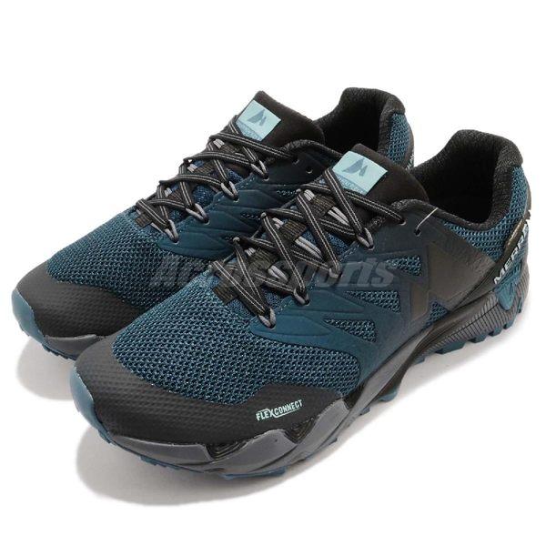 Merrell 戶外鞋 Agility Peak Flex 2 GTX 藍 黑 Gore-Tex 防水 越野 登山 休閒鞋 運動鞋 男鞋【PUMP306】 ML77651