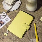 黃油手帳本a6日記本自填日程計劃本學生文藝本子筆記本文具 完美情人精品館