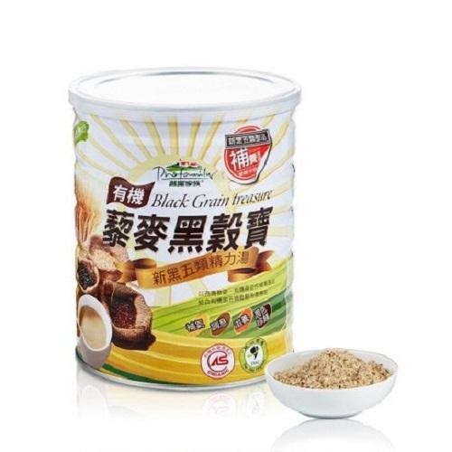 (買1送1) 普羅家族 有機藜麥黑穀寶 800g/罐