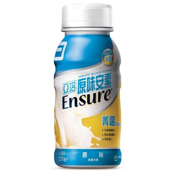 【亞培 Abbott】安素原味菁選隨身瓶(237mlx24入)