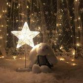 LED小彩燈檯燈布置房間臥室夜燈浪漫裝飾串燈星星燈 igo 『名購居家』