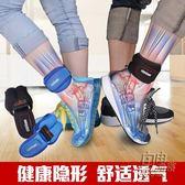 沙袋綁腿負重裝備運動跑步訓練隱形調節男女學生綁手綁腳鐵砂沙包 自由角落