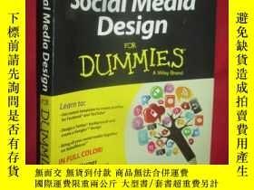 二手書博民逛書店Social罕見Media Design For Dummies