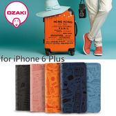 【東西商店】Ozaki O!Coat Travel iPhone 6 Plus 旅遊系列 側翻式附卡槽護皮套